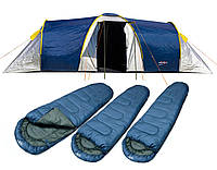 Туристическая палатка шатер Abarqs Clif 6
