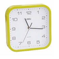 Часы настенные Deli 9000 микс 250х250 см квадратные