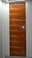 Межкомнатная дверь ELDOOR Wood (натуральный шпон) Палисандр GLOSS 100% в проем 2400х1000