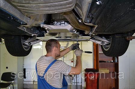 Защита двигателя BMW 3 E46 1998-2006 (БМВ 3 E46), фото 2