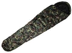 Спальный мешок 2-х слойный -10°C MilTec Woodland 14110020