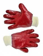 Перчатки резиновые маслостойкие с манжетом,Technics,16-201,Киев.