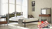 Кровать металлическая кованная Франческа двуспальная