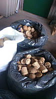 Брикеты Nestro топливные древесные (сосна 100%), п/э пакет, биг бэг, доставка по Украине
