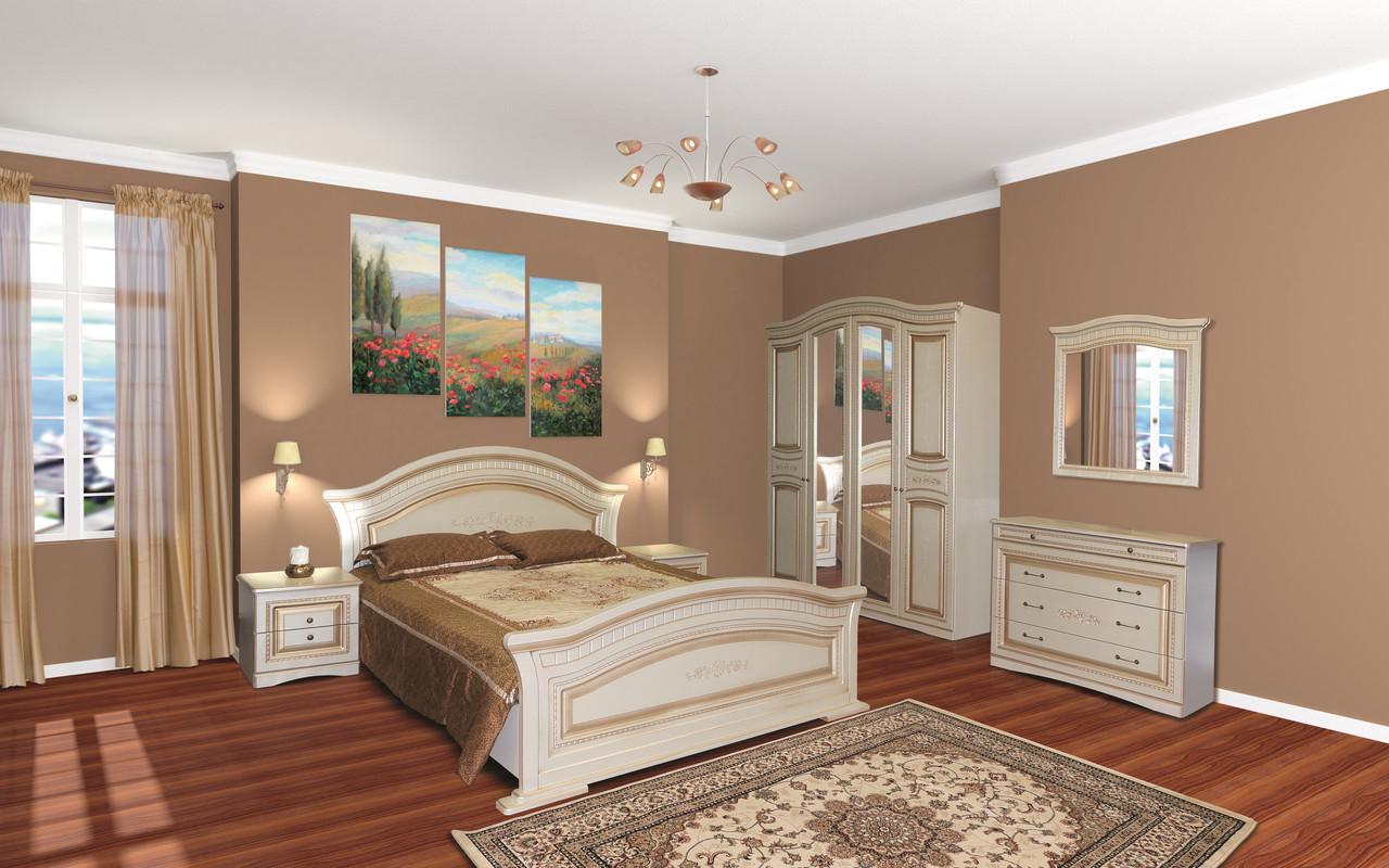 Спальня в классическом стиле  Николь 5Д Світ меблів