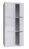 Шкаф металлический ячеечный (локеры) ШМЯ 800-2-6