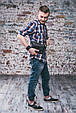 Сумка мужская напоясная DropBag Графит, фото 10