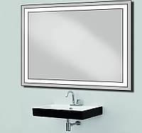 Зеркало с лед подсветкой влагостойкое d-4 1025Х800 мм
