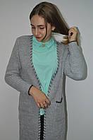 Кардиган женский длинный с карманами Италия, фото 1