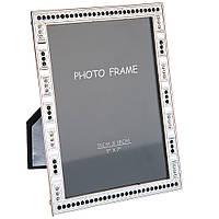 Стильная фоторамка из металла для фото 13х18см