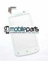 Оригинальный Сенсор (Тачскрин) для Lenovo A520 (Белый)
