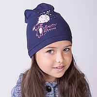 Стильная шапка для девочек на осень 2017 оптом - Sweet Dreams - Артикул 2090