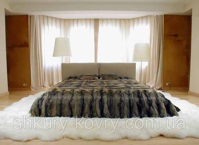 Меховые прикроватные ковры из натуральной овчины
