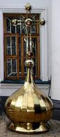 Купол церковный круглый с рядовым покрытием гладь