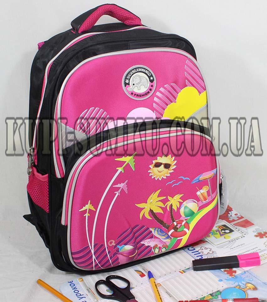 b64e57c6ec38 Яркий школьный рюкзак с ортопедической спинкой - Интернет-магазин