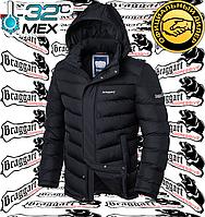 Куртки зимние на меху Braggart - 2682#2683 черный