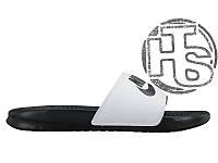 Мужские шлепанцы Nike Benassi Jdi Black/White 818736-011