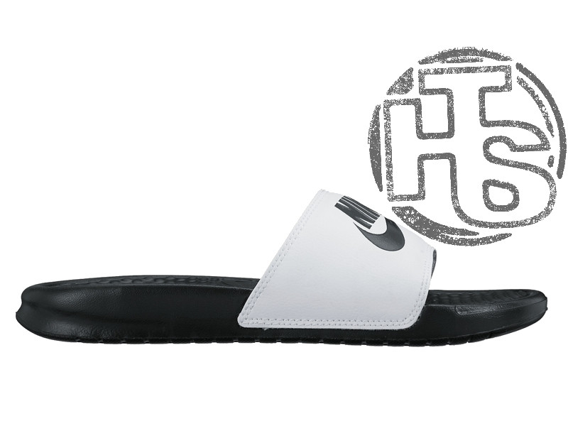5774a132 Мужские шлепанцы Nike Benassi Jdi Black/White 818736-011 - Интернет-магазин