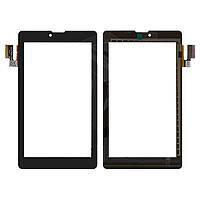 """Сенсорный экран (touchscreen) для Prestigio MultiPad, 7.0"""", 186-107 мм, 36 pin, емкостный, черный, оригинал"""