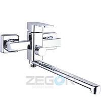 Смеситель для ванны с длинным изливом Zegor LEB7-A