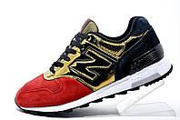 Кроссовки женские New Balance 1400, Gold\Red