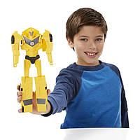 Трансформер Бамблби роботы под прикрытием Transformers Robots in Disguise Titan Changers Bumblebee Figure