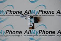 Шлейф кнопок звука и коннектора наушников для Apple iPhone 4G Black