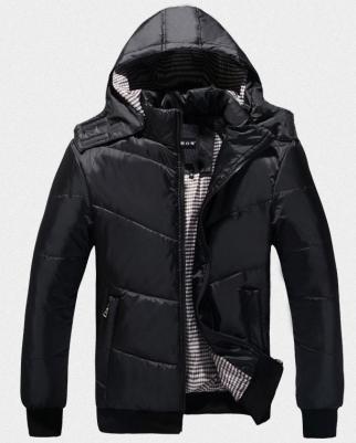 Мужская зимняя куртка с капюшоном. Модель 6120