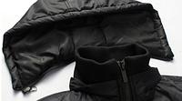 Мужская зимняя куртка с капюшоном. Модель 6120, фото 3