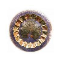 Тарелки бронзовые настенные