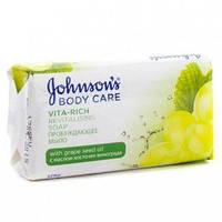 Мыло Johnson's Vita Rich Пробуждающее с маслом косточек винограда 125 г