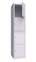 Шкаф металлический ячеечный (локеры) ШМЯ 400-1-4