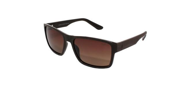 Солнцезащитные очки коричневые мужские Romeo Polaroid - Интернет магазин Старик Хоттабыч в Киеве
