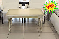 Журнальный столик с патиной золота
