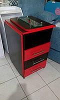 Маникюрный стол раскладной.Венге +красный.