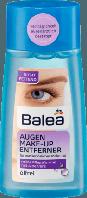 Тоник для снятия водостойкого макияжа с глаз Balea Augen Make-Up Entferner ölfrei