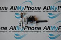 Шлейф кнопок звука и коннектора наушников c компонентами для Apple iPhone 4S Black