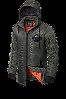 Мужская брендовая осенняя куртка (р. 48-54) арт. 66206