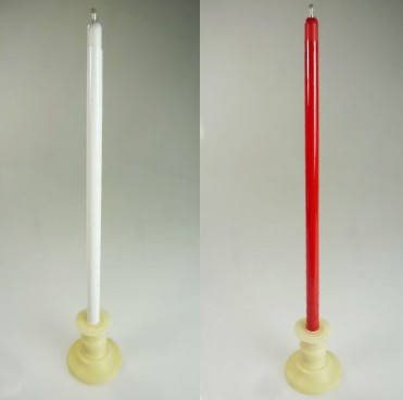 Color Changing and Vanishing Candles (Red to White) - Trick, фото 2