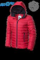 Куртка ветровка красная мужская MOC 968B