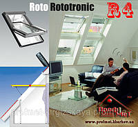 Мансардные окна ROTO Designo R4 RotoTronic, фото 1