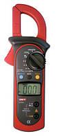 Тестер ut 201, токовые клещи, измерение напряжения, переменного тока, сопротивления, удобная форма, 2хааа, фото 1