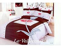 Постельное белье Le Vele Kiss евро размер.
