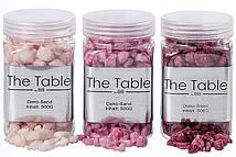 Декоративные камни розовые h10см 500г Гранд Презент 8290600