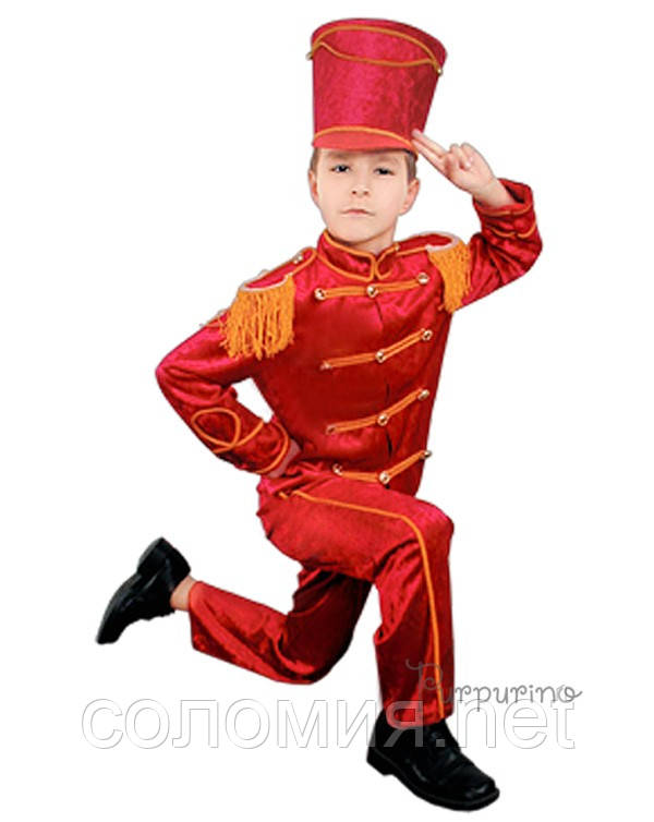 Детский костюм для мальчика Гусар