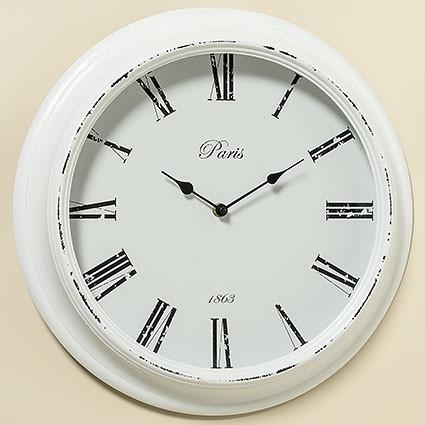 Настенные часы белый МДФ d39см 1003976 1003976 1003976