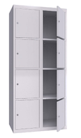 Шкаф металлический ячеечный (локеры) ШМЯ 800-2-8