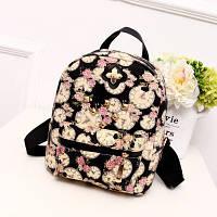 Маленький женский рюкзак Часики