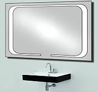 Зеркало с LED подсветкой настенное d-59 1200х800 мм