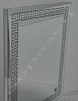 Зеркало с LED подсветкой настенное d-59 1200х800 мм, фото 3